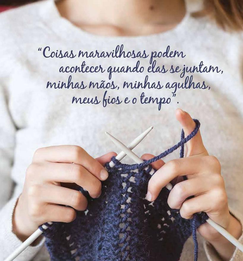 Modas Fios: tricotando